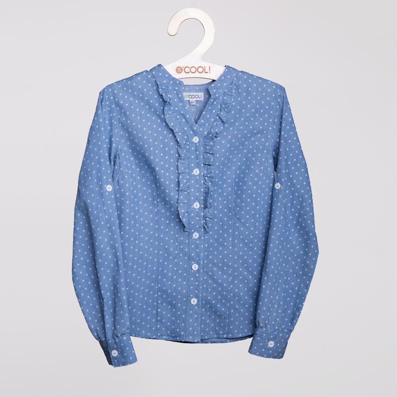 Блузка  джинсовая 154010