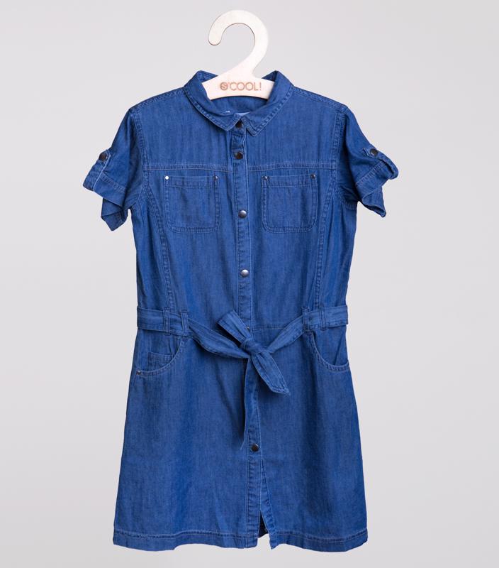 Платье  джинсовое 154018