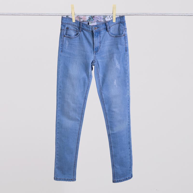 Брюки  джинсовые 154038