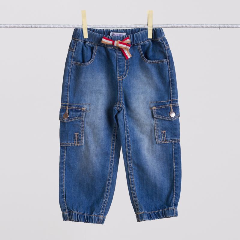 Брюки джинсовые 157008