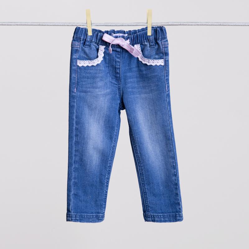 Брюки джинсовые 158008