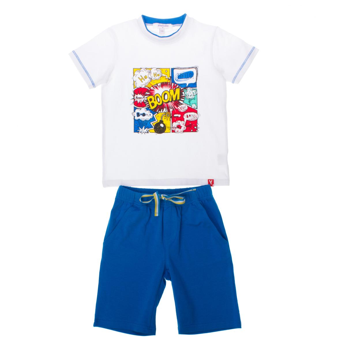 Комплект:  футболка, шорты 161074