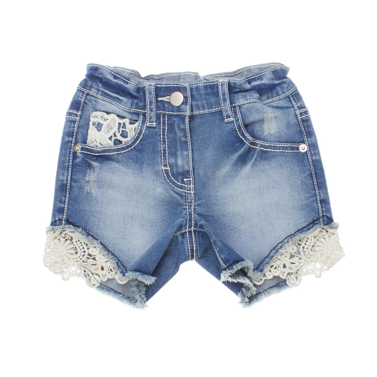 Шорты джинсовые 162153