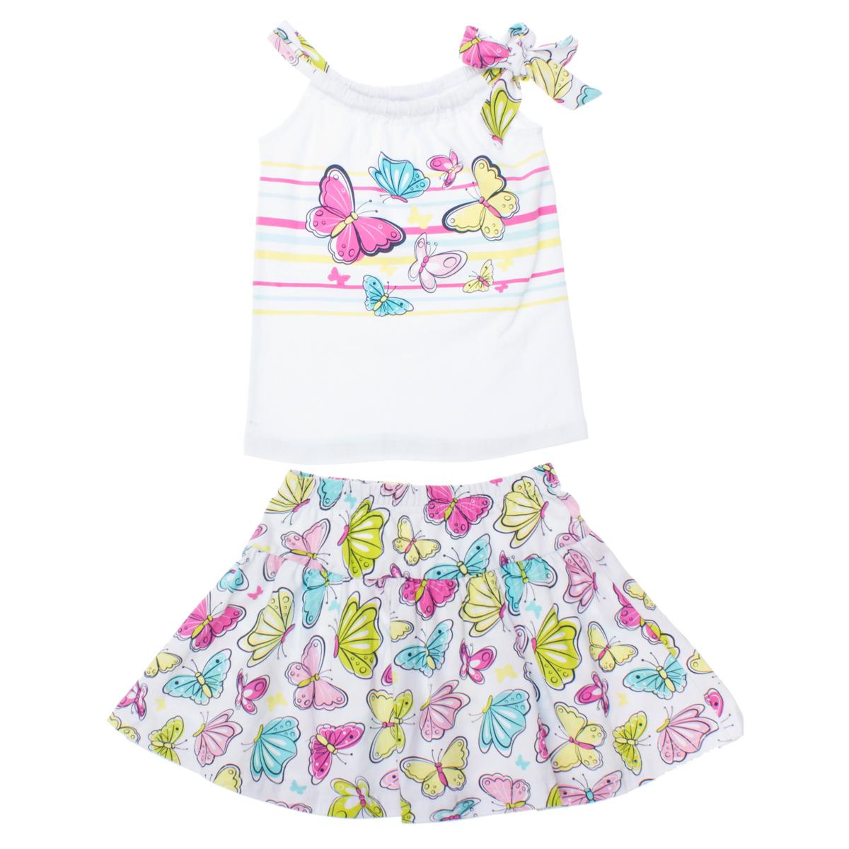 Комплект: майка, юбка 162172
