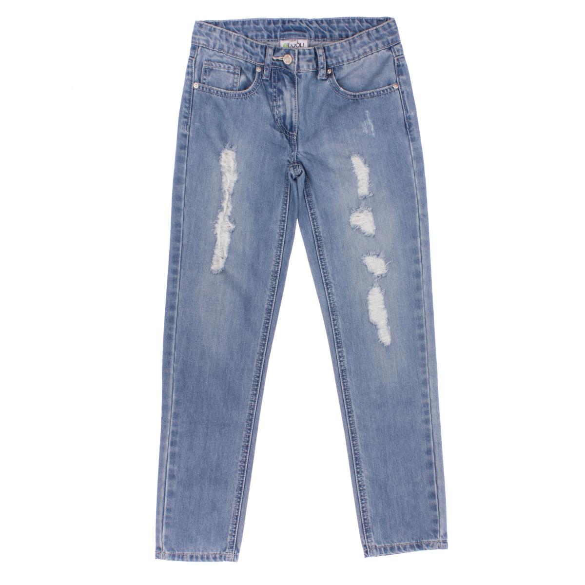 Брюки джинсовые 164057