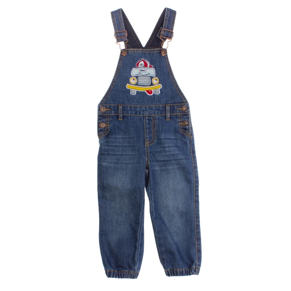 Полукомбинезон  джинсовый 167005