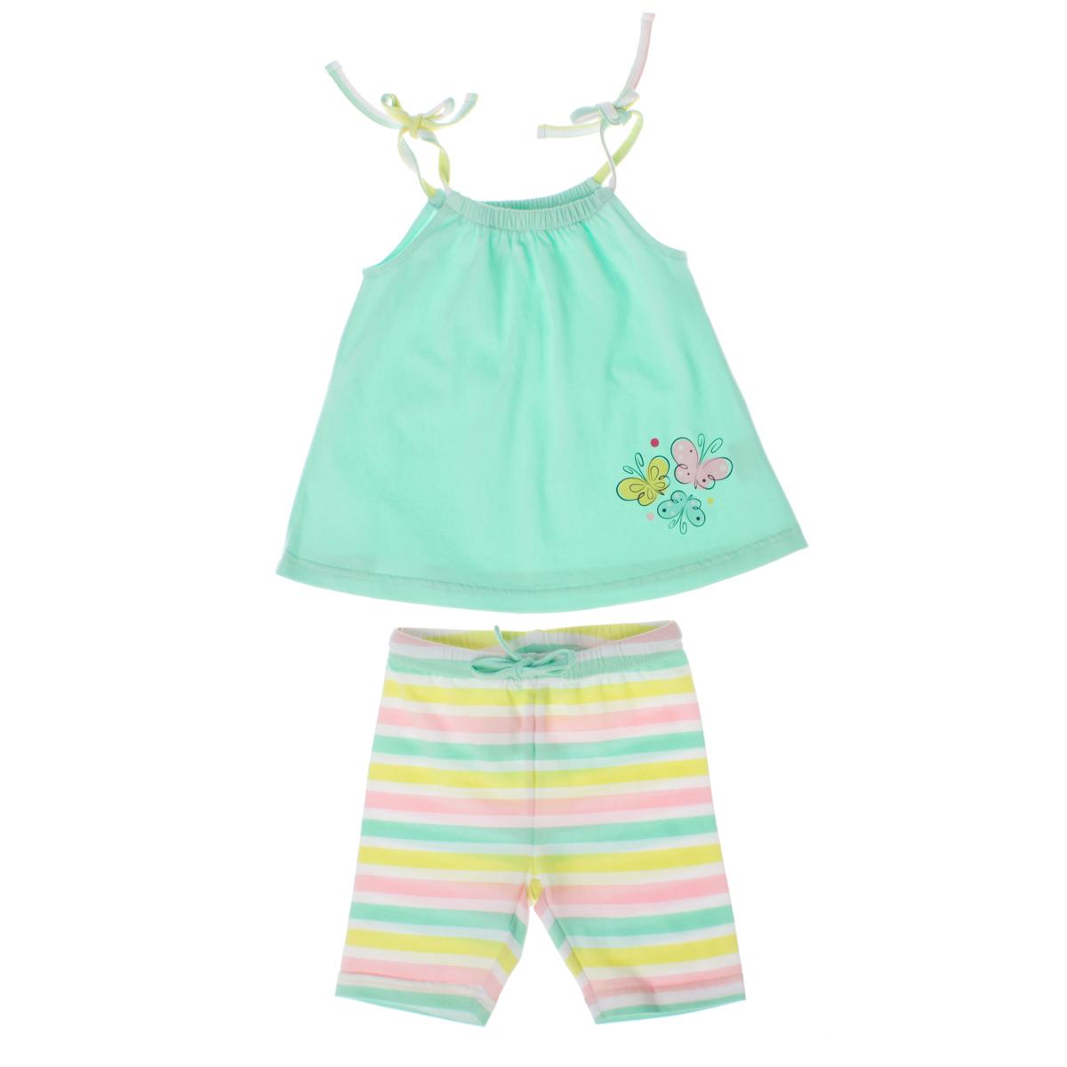 Комплект: майка, шорты 168057