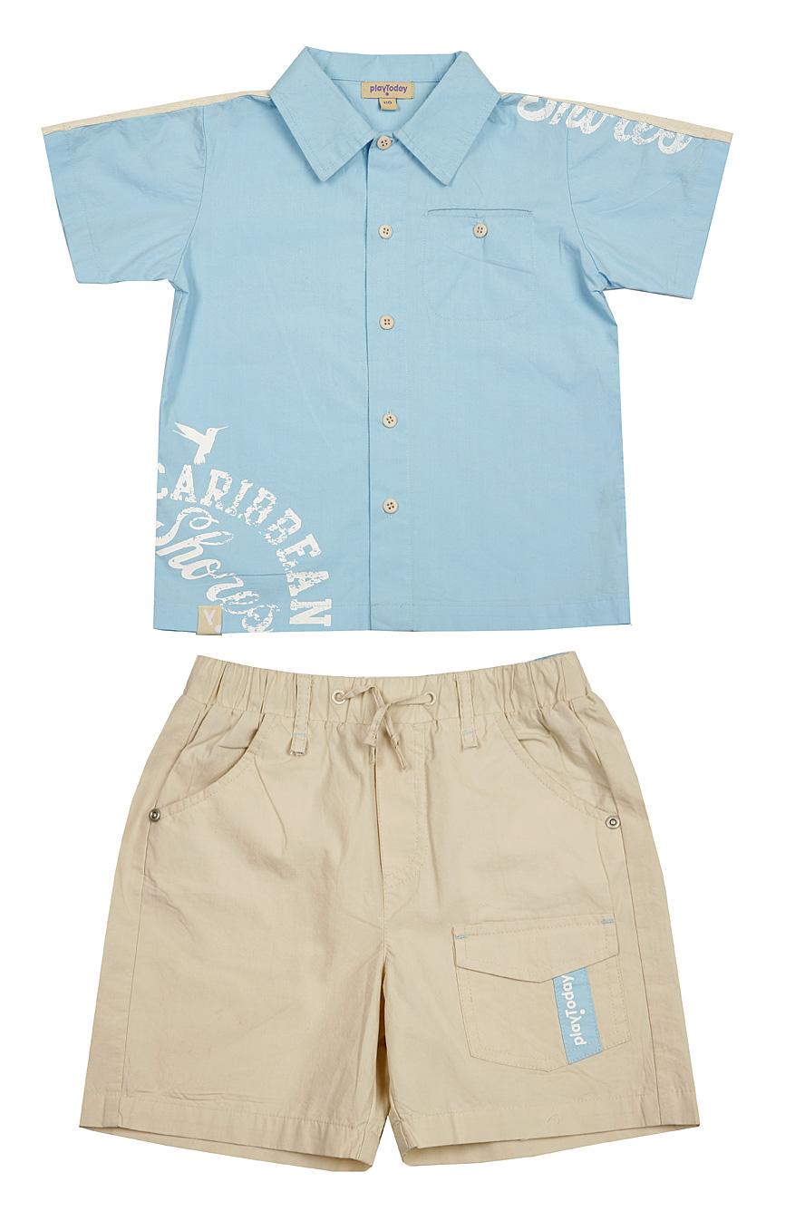Комплект: рубаш. шорты для мал. 19155