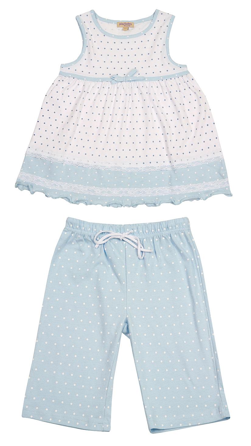 Пижама для дев. 19603