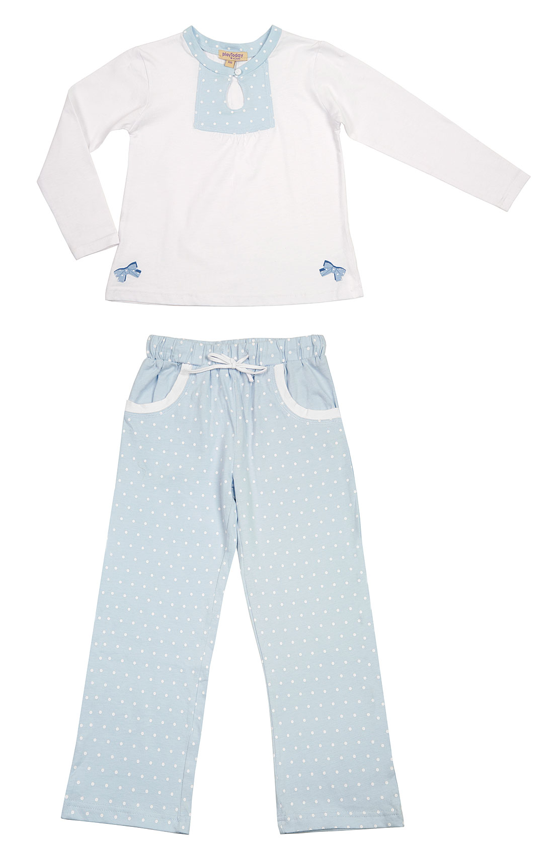 Пижама для дев. 19604