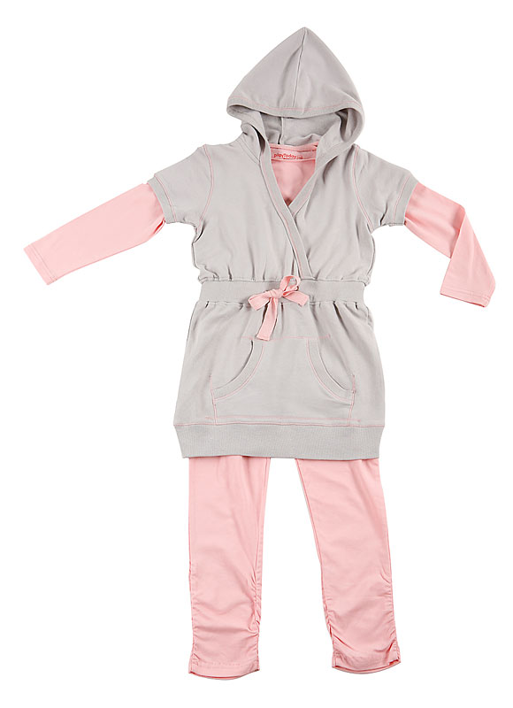 Комплект: платье, футболка, леггинсы для дев.20909 20909