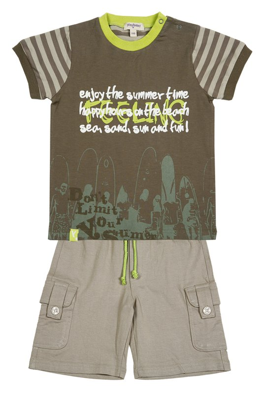 Комплект: футболка, шорты для мал. 211000