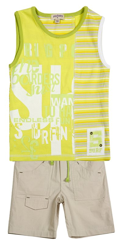 Комплект: майка, шорты для мал. 211002