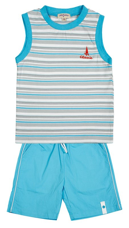 Комплект: майка, шорты для мал. 211026