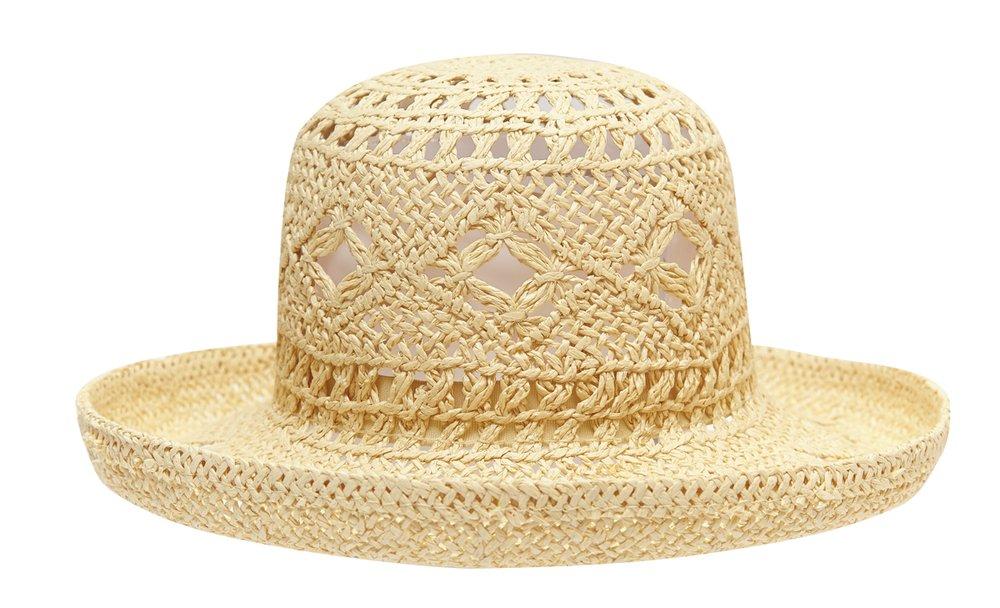 Шляпа соломенная 232048