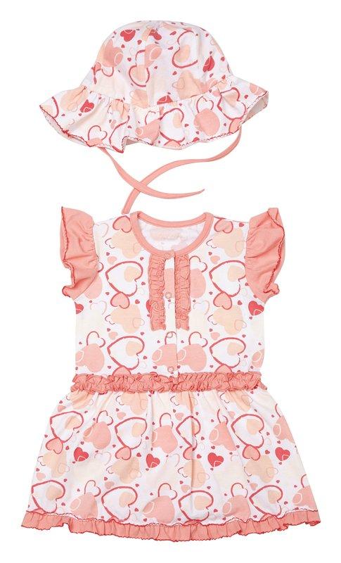 Комплект: платье, панама 238010