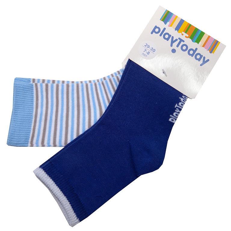 Носки трикотажные для мальчиков, 2 пары в комплекте 251014