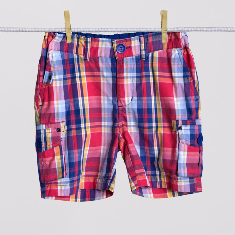 Шорты текстильные для мальчиков 251038