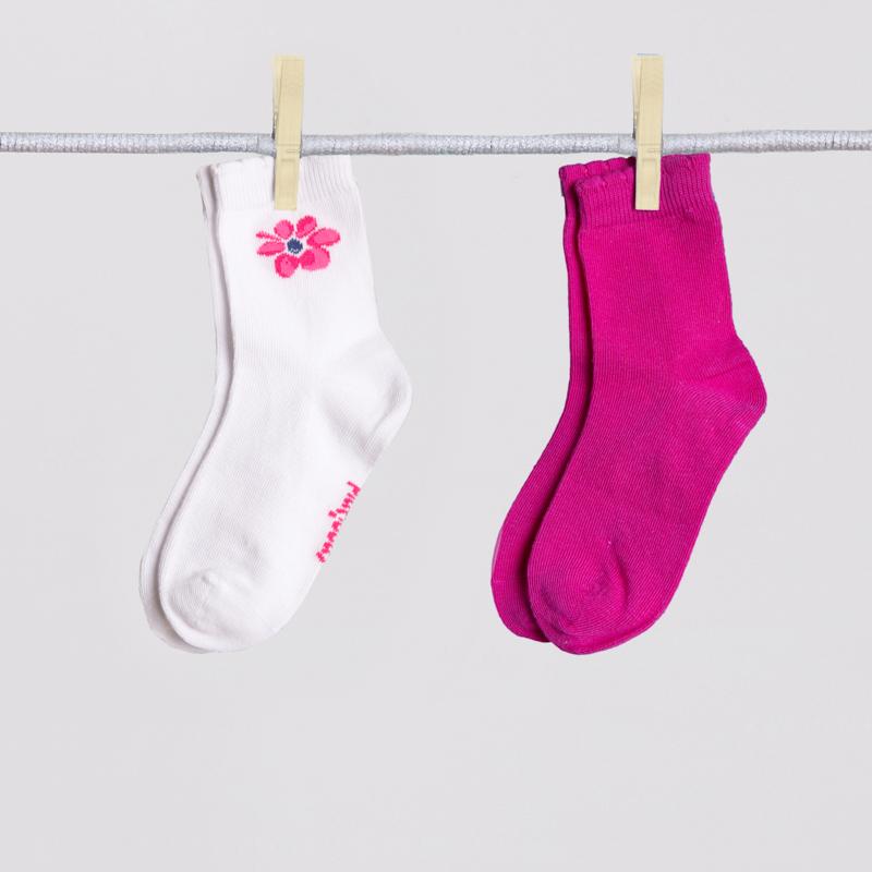 Носки трикотажные для девочек, 2 пары в комплекте 252020