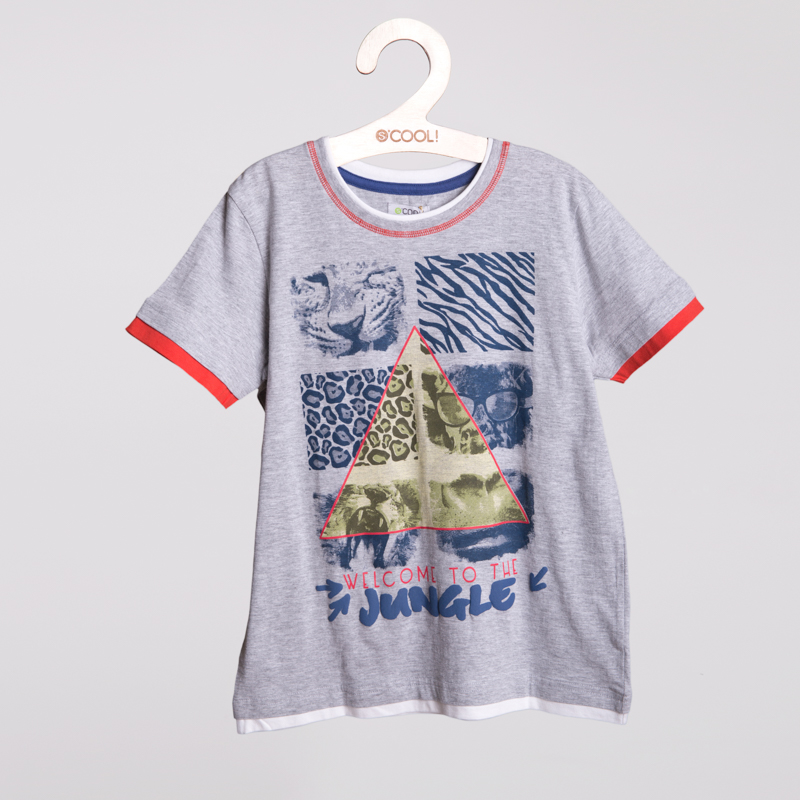 Фуфайка трикотажная для мальчиков (футболка) 253002