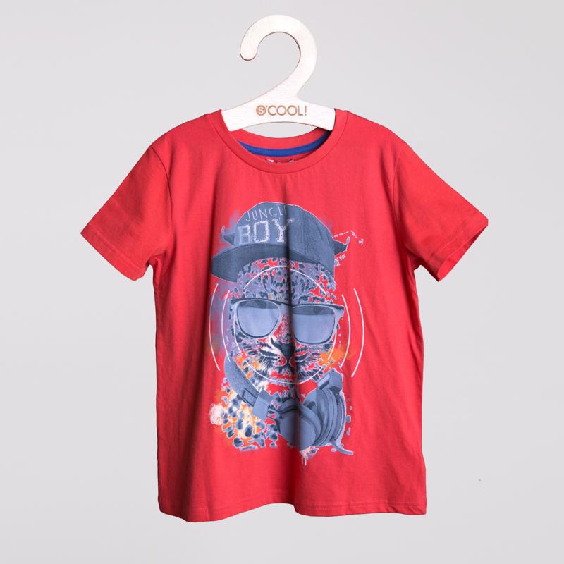 Фуфайка трикотажная для мальчиков (футболка) 253003