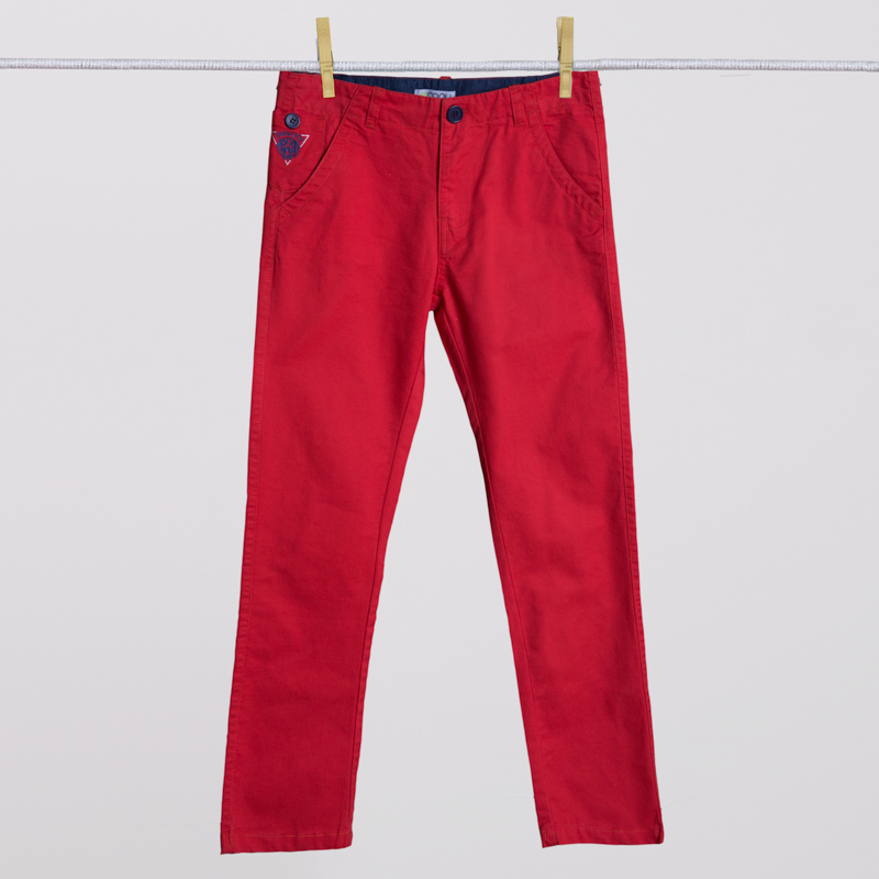 Брюки текстильные для мальчиков 253008