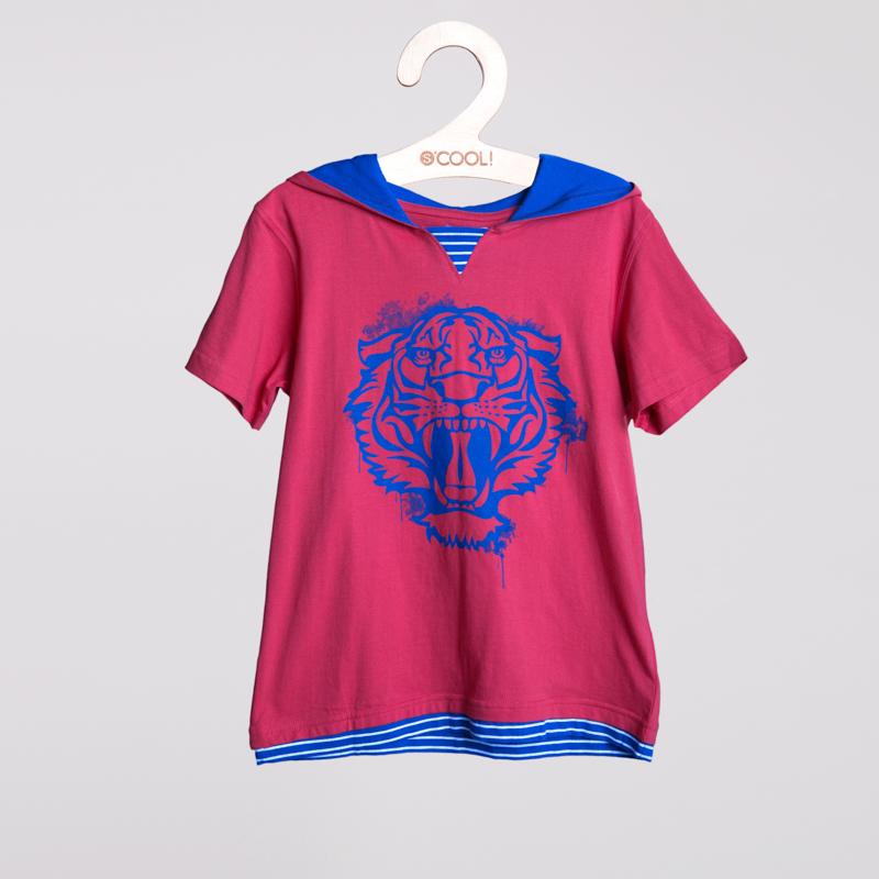 Фуфайка трикотажная для мальчиков (футболка) 253019