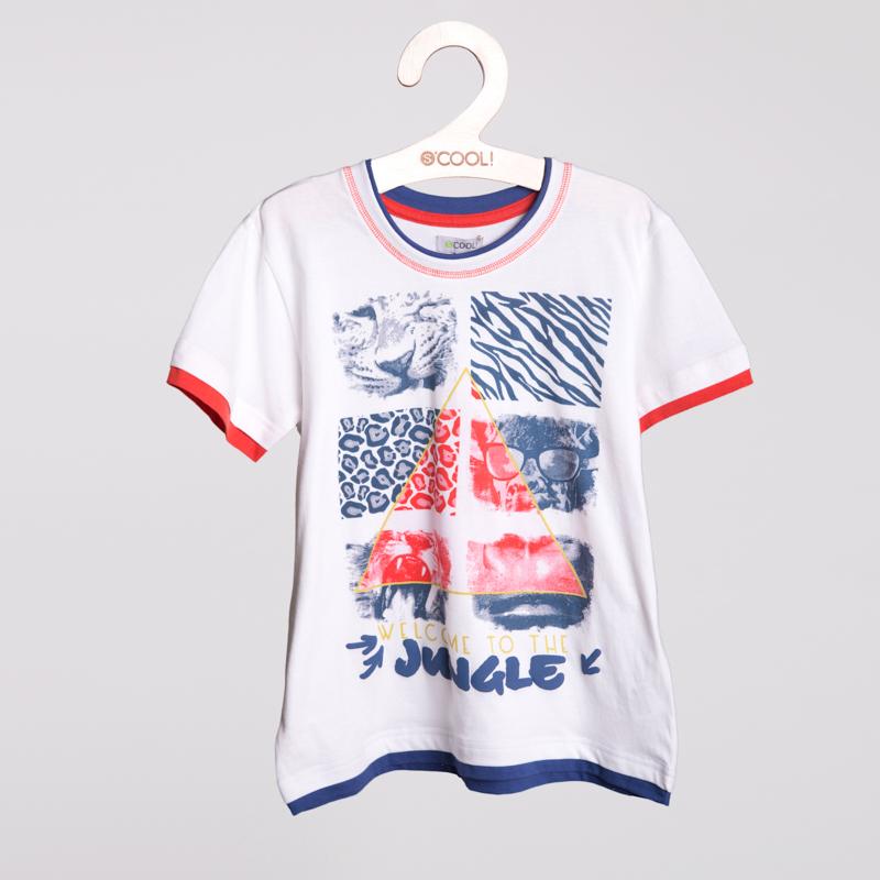Фуфайка трикотажная для мальчиков (футболка) 253020