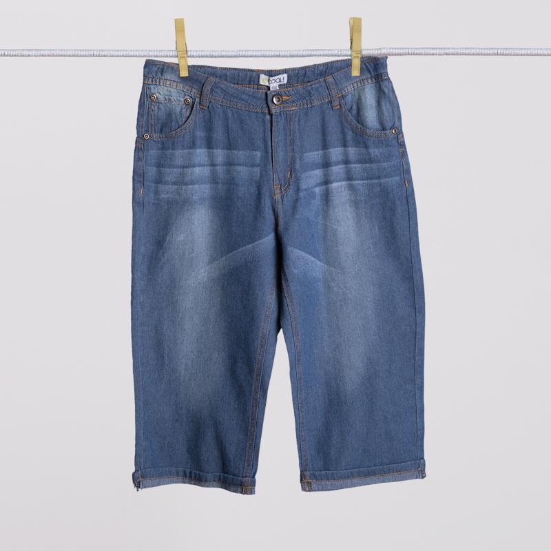 Шорты текстильные джинсовые для мальчиков 253022