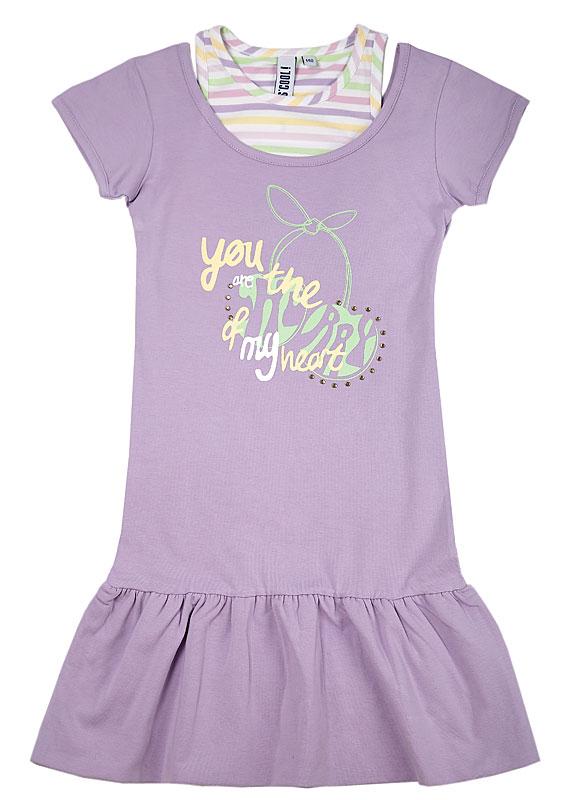 комлект для дев.:платье, леггинсы 29411