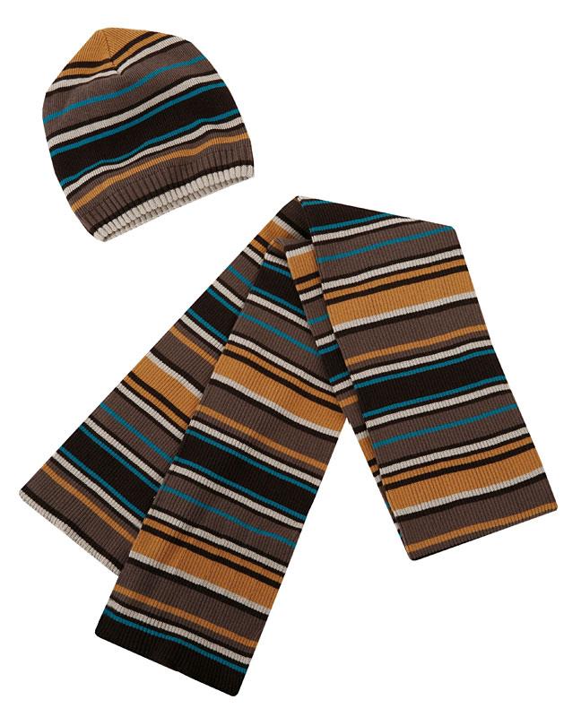 Комплект: шапка, шарф, перчатки для мал. 30318