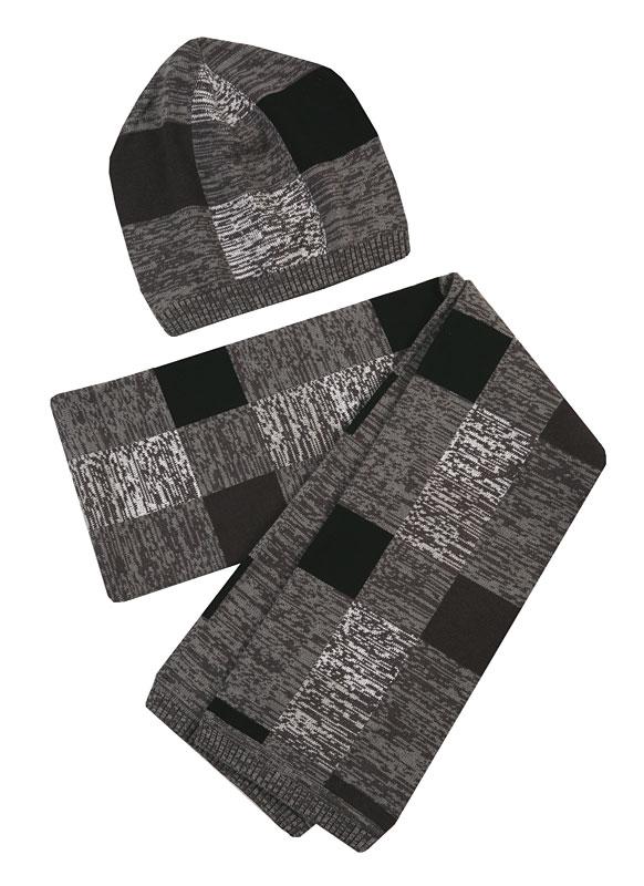 Комплект: шапка, шарф для мал. 30322