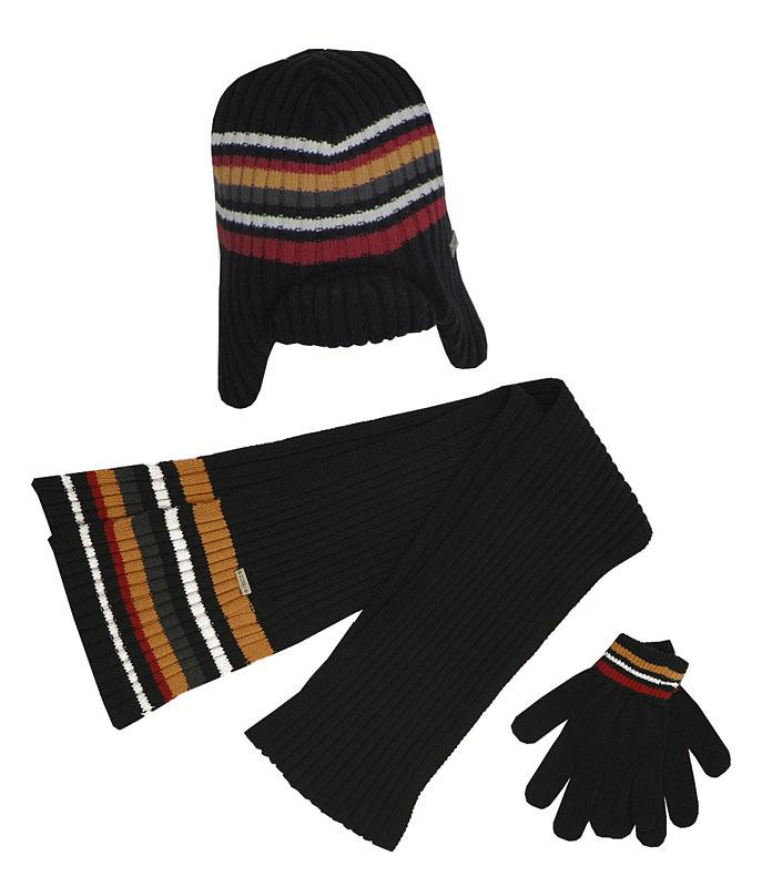 Комплект:шапка, шарф, перчатки для мал. 30346