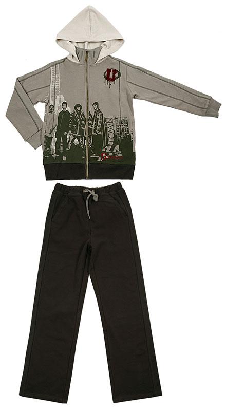 Костюм: толстовка, брюки для мал. 30360
