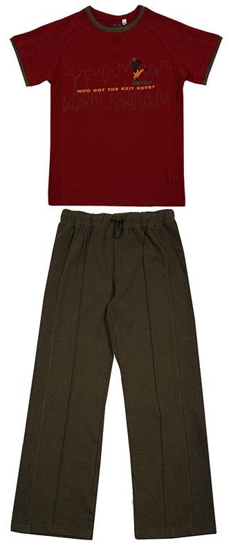 Костюм: футболка, брюки для мал. 30361