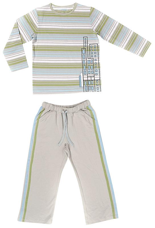 Комплект: футболка, брюки для мал. 30504