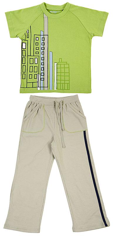 Комплект: футболка, брюки для мал. 30505