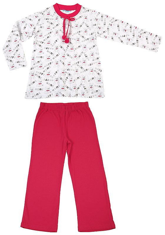 Комплект: футболка, брюки для дев. 30607