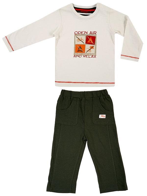 Комплект: футболка, брюки для мал. 307016