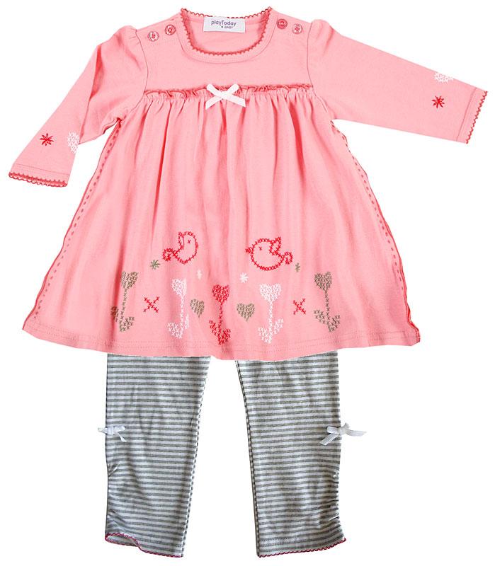 Комплект: платье, лосины для дев. 308013