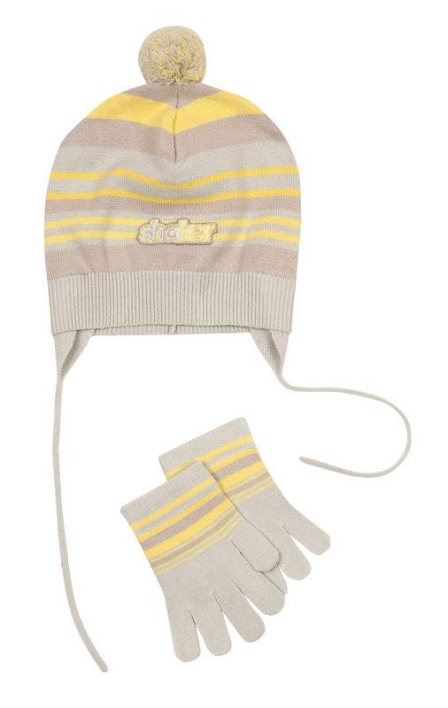 Комплект: шапка, перчатки 311029