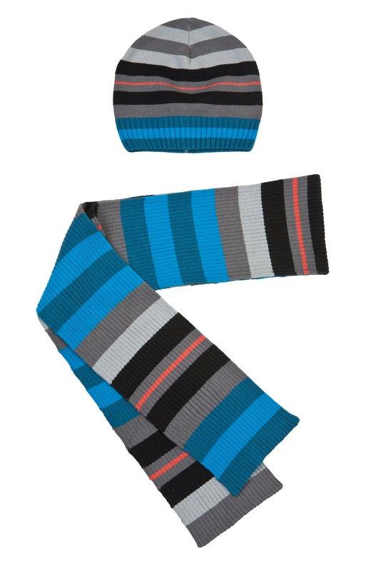 Комплект: шапка, шарф 313030