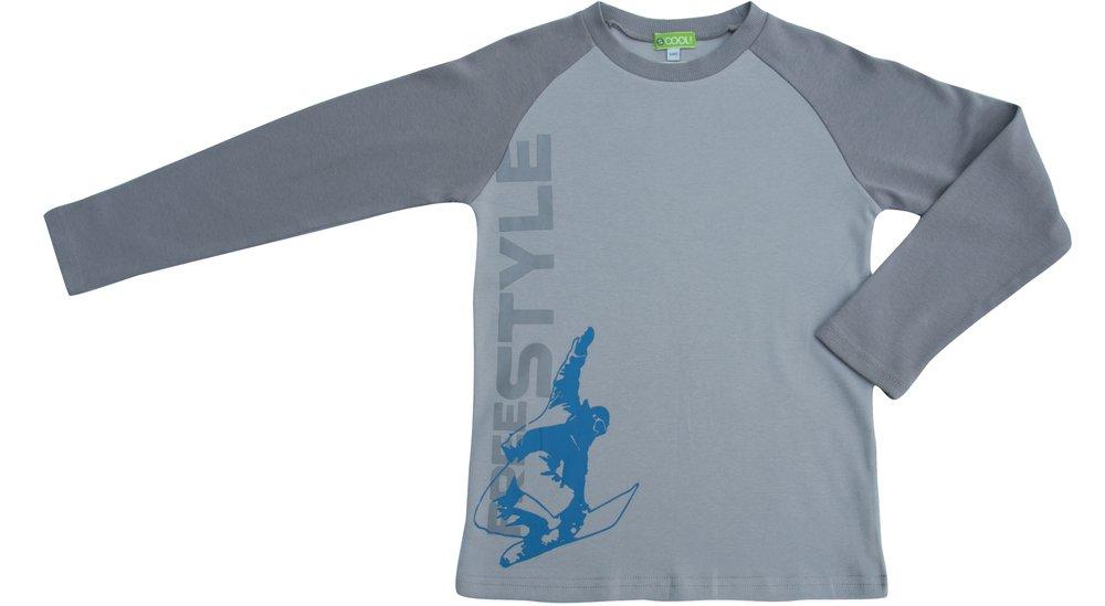 Комплект: футболка с длинным рукавом, кальсоны 313098