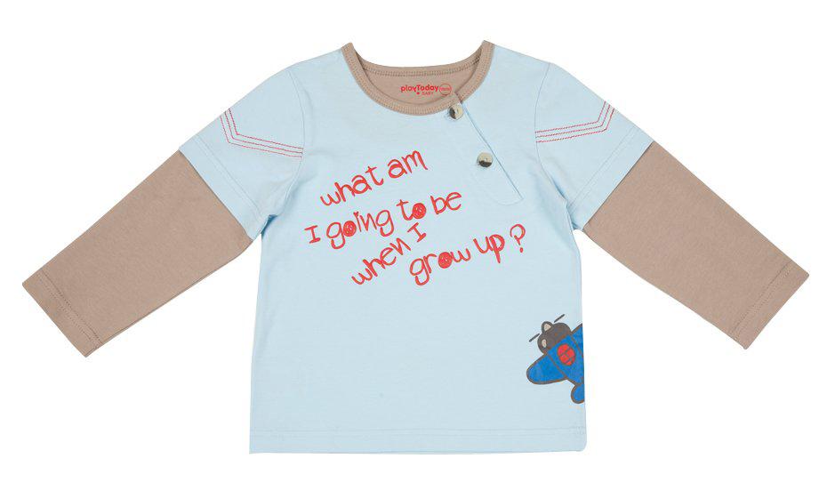 Комплект: футболка с длинным рукавом, брюки 317013