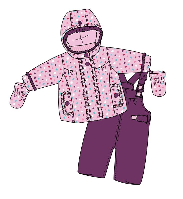 Комплект: куртка, полукомбинезон 318001