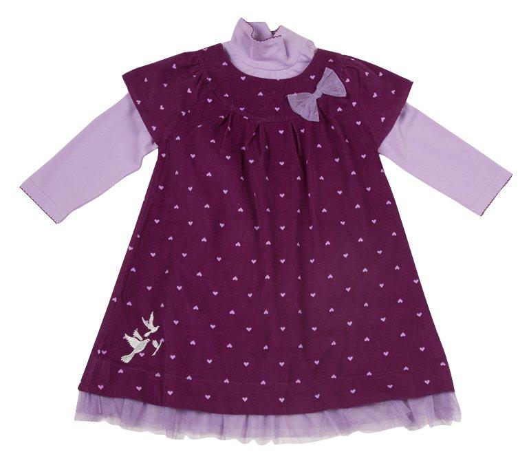 Комплект: боди, платье 318010