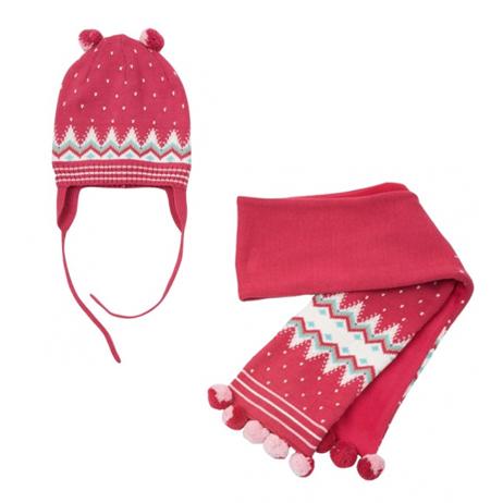 Комплект: шапка, шарф 318060