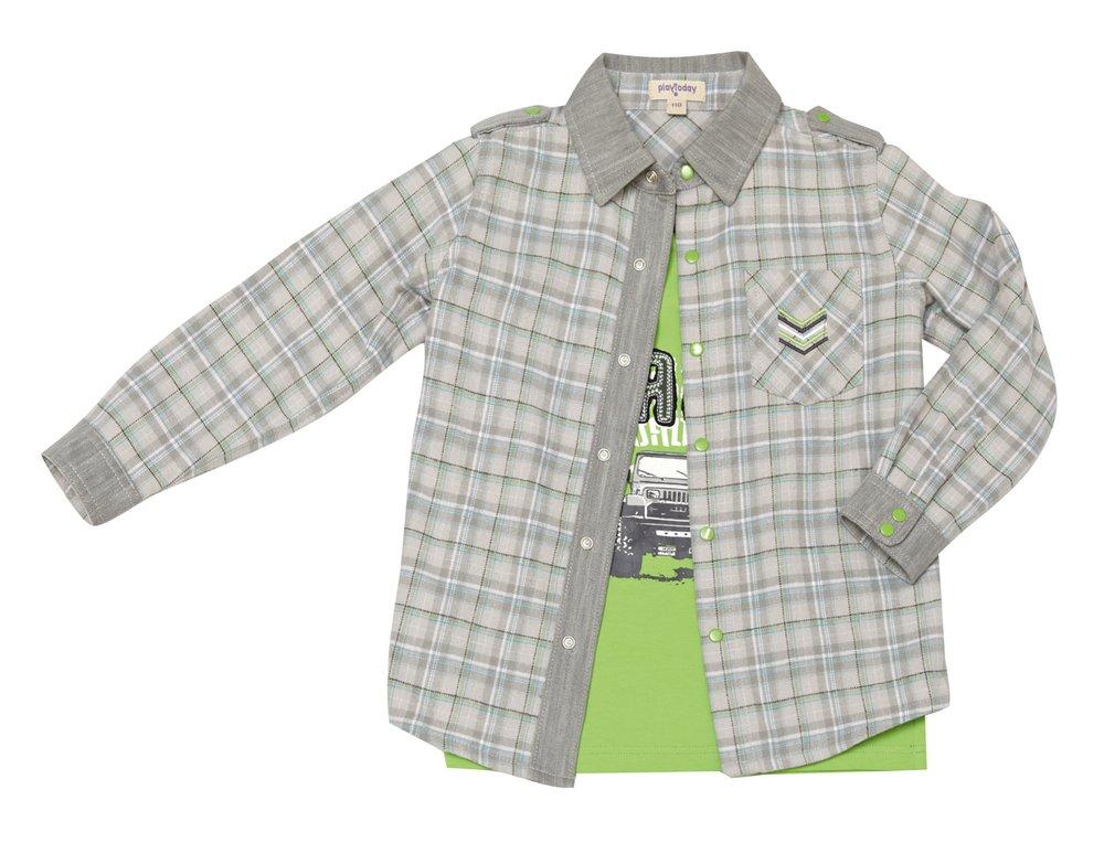 Комплект: сорочка, футболка 321050