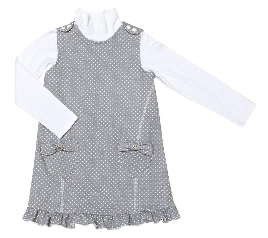 Комплект: платье, водолазка 322103