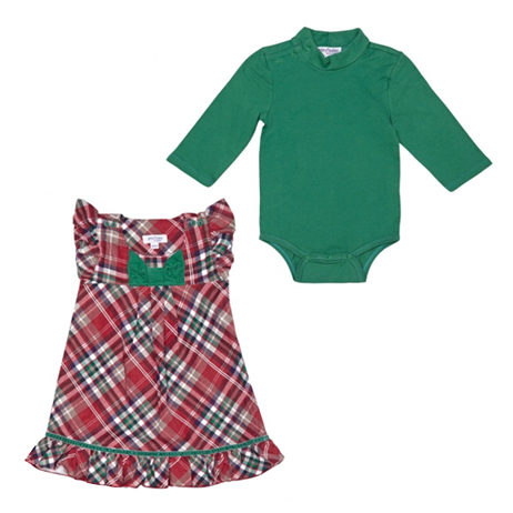 Комплект: платье, боди 328012